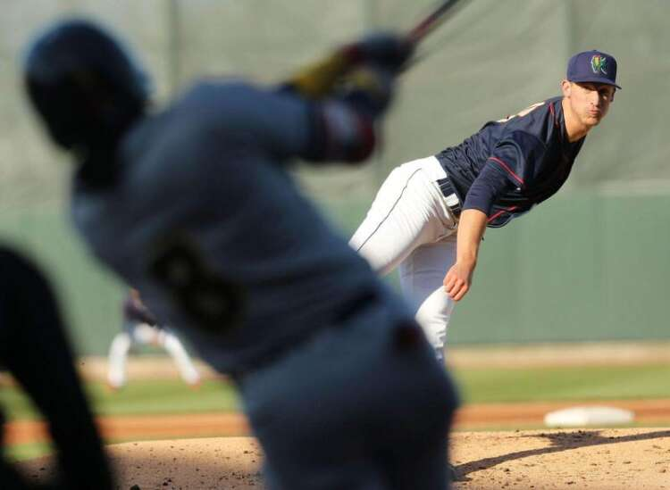Josh Winder's time with Cedar Rapids Kernels likely dwindling: Minor league baseball notebook
