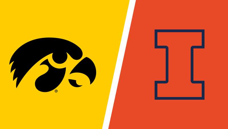 Iowa men's basketball at Illinois: Box score, highlights, live updates recap