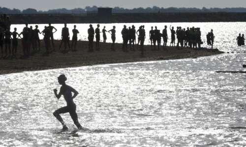 Photos: A smaller, socially distant Pigman Triathlon 2020