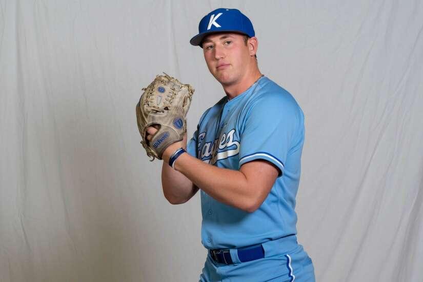 Luke Llewellyn grows into key pitching role for Kirkwood baseball