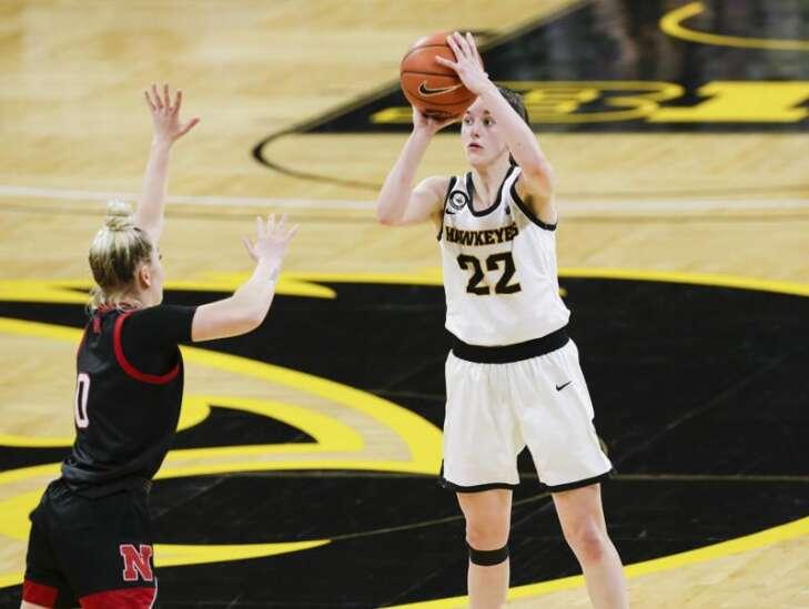 Iowa freshman Caitlin Clark is a second-team AP women's basketball All-American
