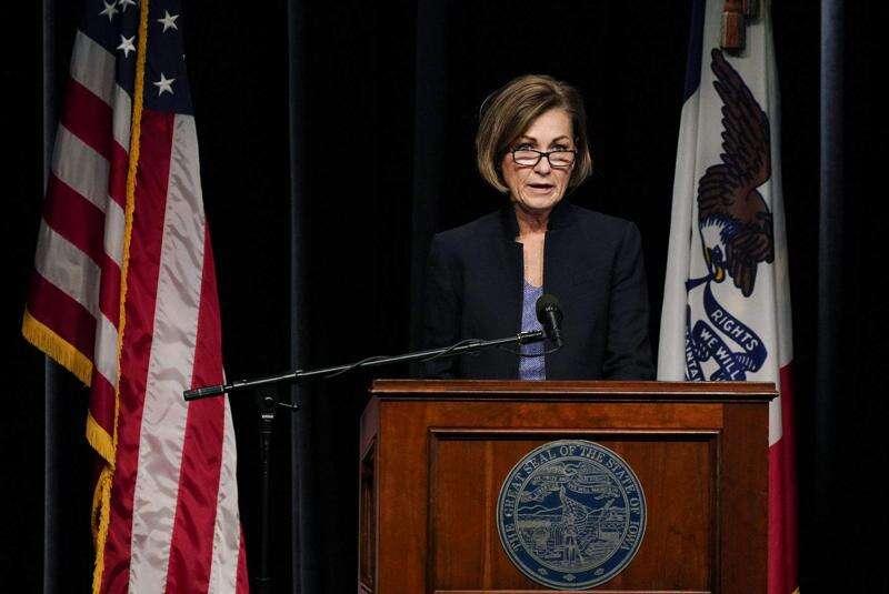 Watch: Gov. Kim Reynolds holds news conference at 11 a.m. Thursday