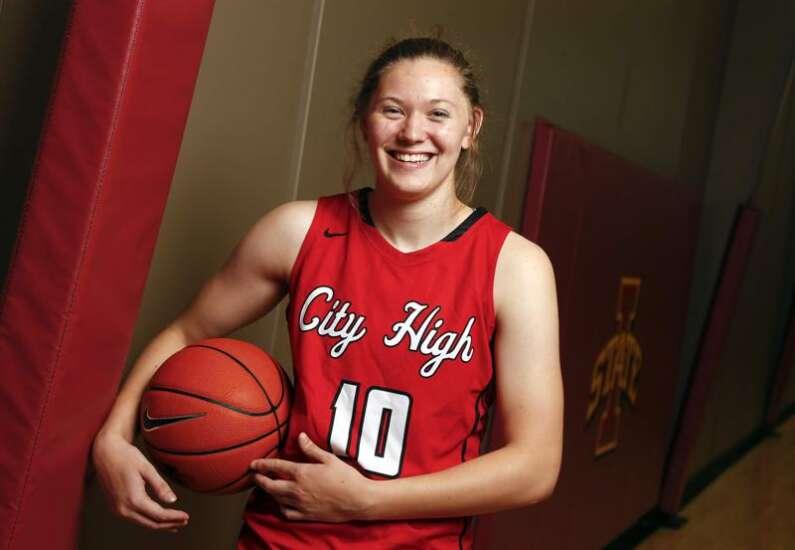 Ashley Joens of Iowa City High is The Gazette's 2018 Female Athlete of the Year