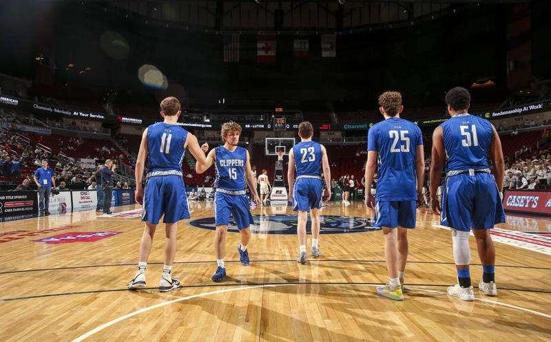 Photos: Clear Creek-Amana vs. Sergeant Bluff-Luton, Iowa Class 3A boys state basketball seminfals
