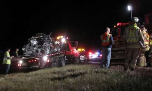 Four injured in accident on Interstate 380