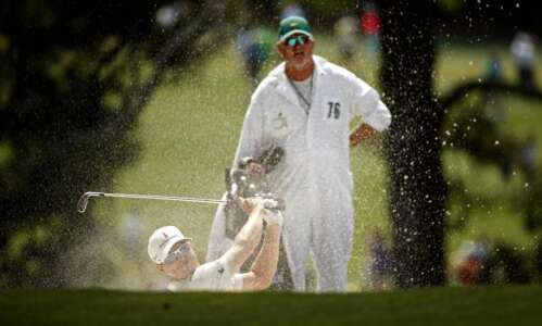 Zach Johnson matches personal Masters-best with 68