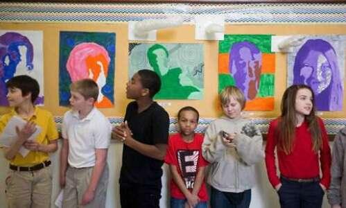 Cedar Rapids private, public school students discover their similarities