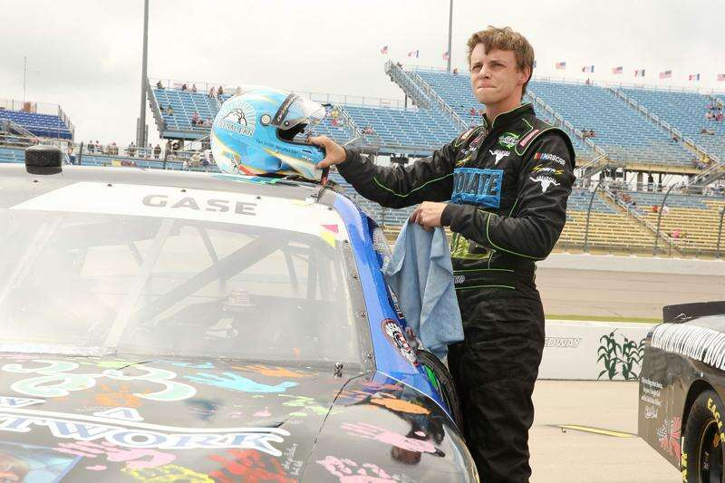Joey Gase only has 'normal worries' as NASCAR returns