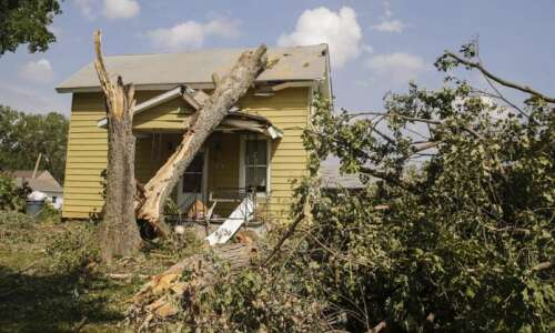 Over 90% of Marion homes, buildings were damaged in derecho