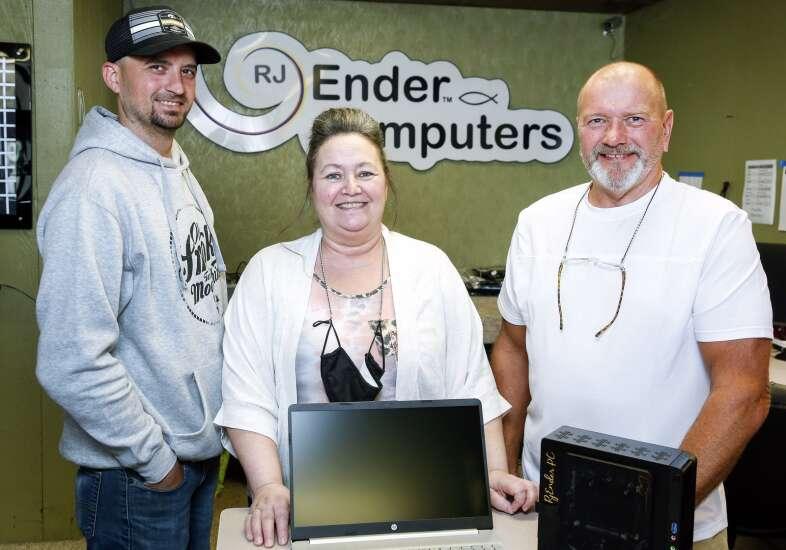 RJ Ender Computers in Cedar Rapids started as a hobby