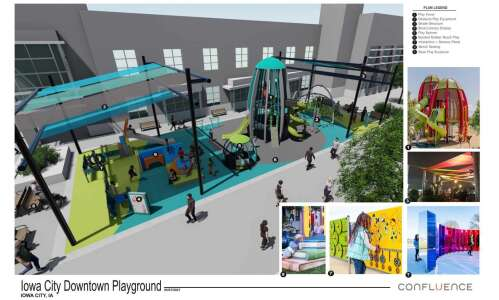 Iowa City gets 550 responses to Ped Mall playground concept