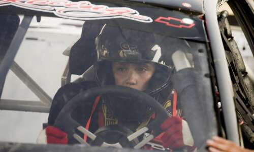 For 15-year-old Rylie Mullin, racing at Hawkeye Downs started 'as…