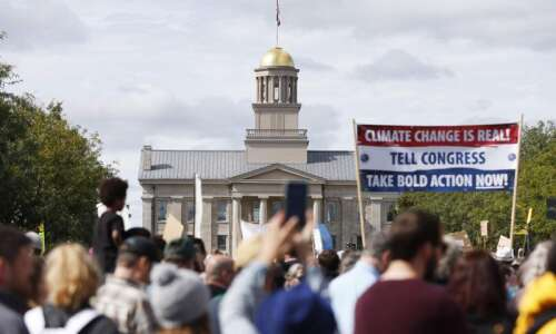 Challenging Iowans to act on climate change