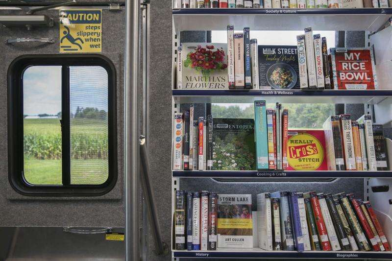 Iowa City Public Library's Bookmobile is thriving