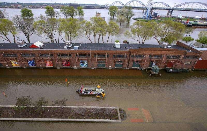 Flooding catastrophe strikes Davenport