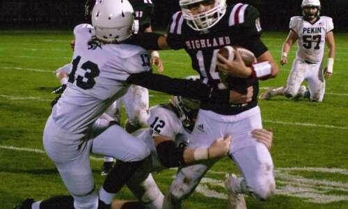 Highland bows out of Class A football playoffs