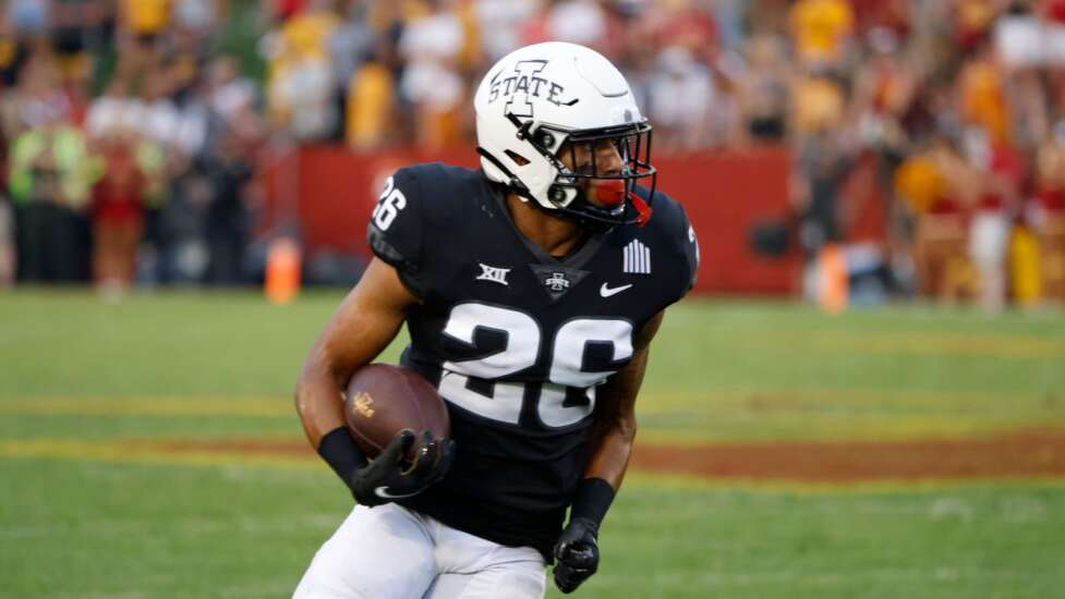 Young Iowa State football players stepping up on experienced team