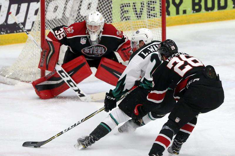 Liam Walsh in his 3rd season with C.R. RoughRiders, but he's in no rush to get to college hockey