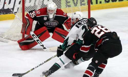 Liam Walsh in his 3rd season with C.R. RoughRiders, but…