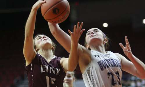 Photos: North Linn vs. Nodaway Valley, Iowa Class 2A girls'…