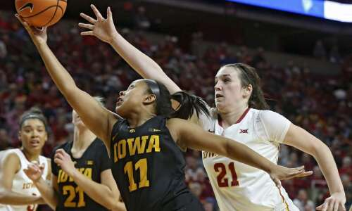 Defense stout, but Iowa State women's basketball comes up short…