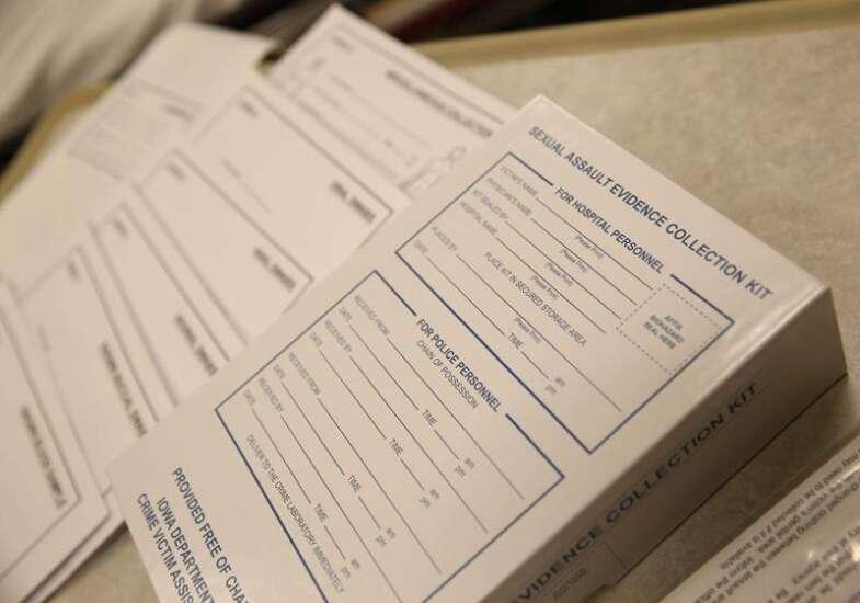 Many rape kits remain unanalyzed in Corridor, elsewhere in nation