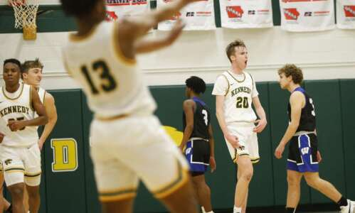 Photos: C.R. Washington vs. C.R. Kennedy, Iowa high school boys'…