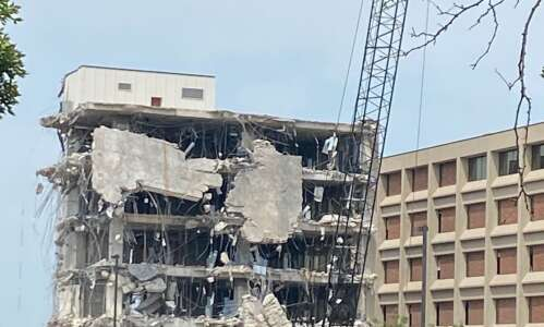 Demolition begins on Transamerica buildings