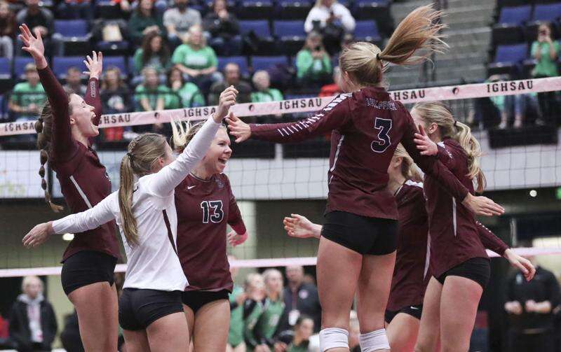 Western Christian reaches state volleyball championship match for 10th straight year