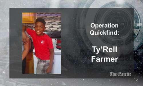 (CANCELED) Operation Quickfind issued for Cedar Rapids boy, 10