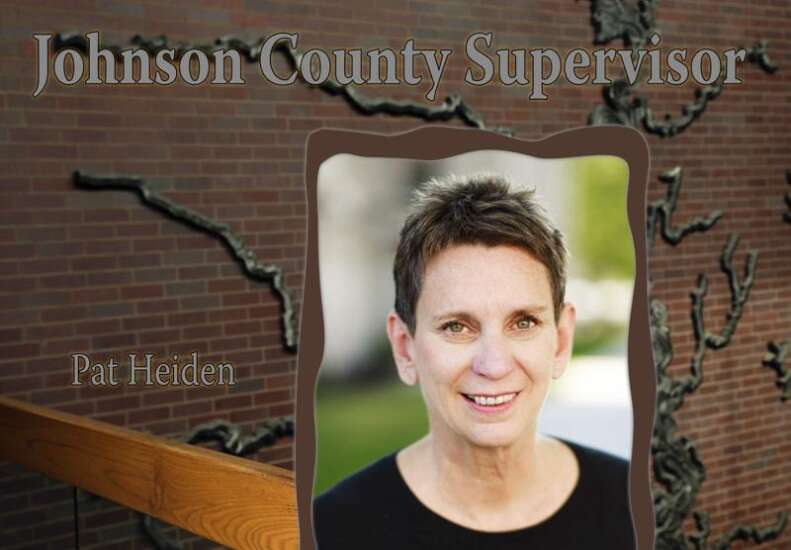 Johnson County Supervisors select new chair, vice chair