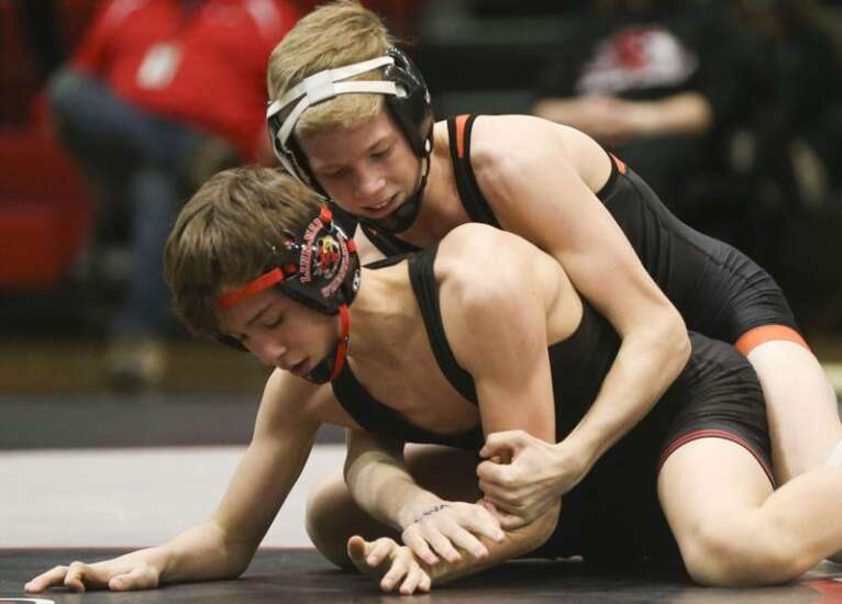 Cedar Rapids Prairie wrestler Blake Gioimo reaps reward of offseason hard work