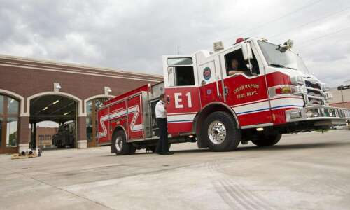 Cedar Rapids fire under investigation