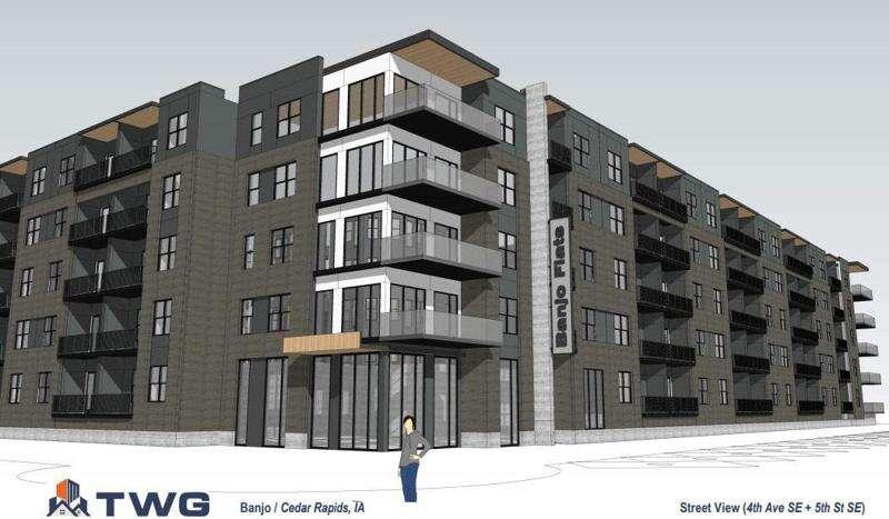 Cedar Rapids City Council to consider advancing $52 million plans for 'Banjo Block'
