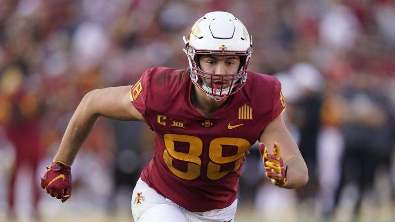 Iowa State football notes: Why Charlie Kolar stayed committed after Oklahoma State offered