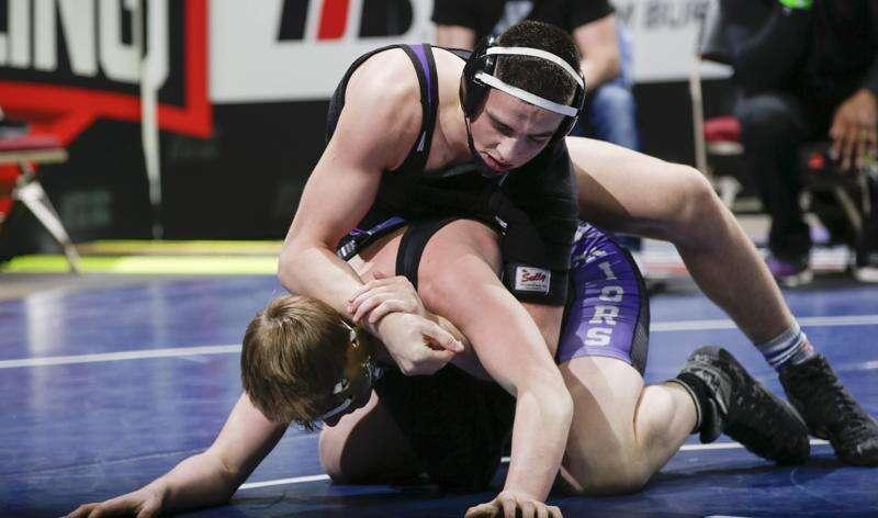 State wrestling notes: Iowa City Liberty's Ashton Barker captures medal