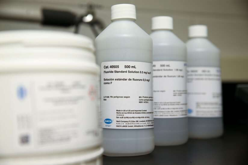 Iowa cities must tell citizens before they stop adding fluoride to water, new law says