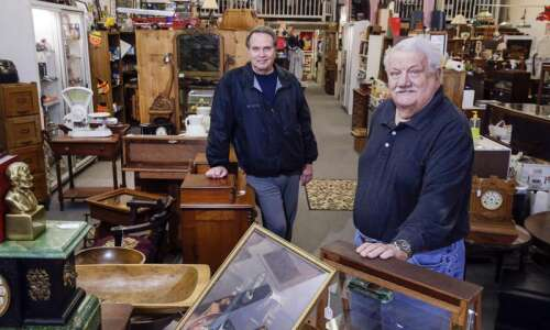 For Antiques of Marion owners, the business is a natural