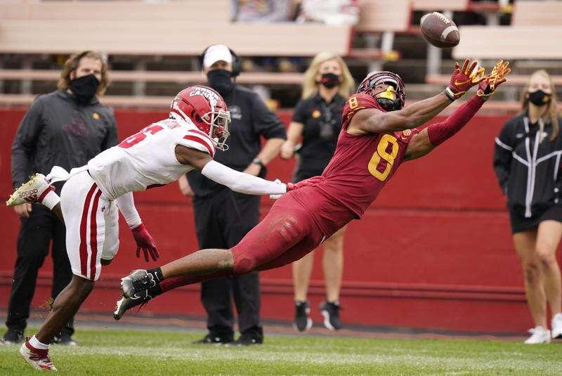 Iowa State receivers finding their rhythm