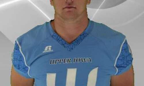 Ryan Parmely embraces double duty for Upper Iowa