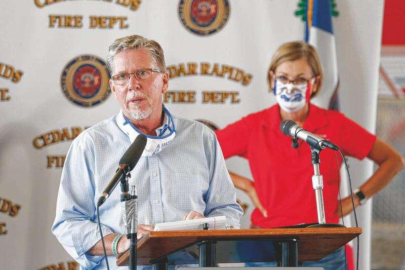 Cedar Rapids mayor says Cedar Rapids, Linn County mask mandate remains in effect