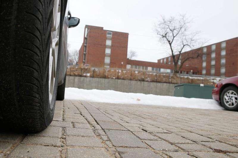 Parking lot is a start on stormwater progress
