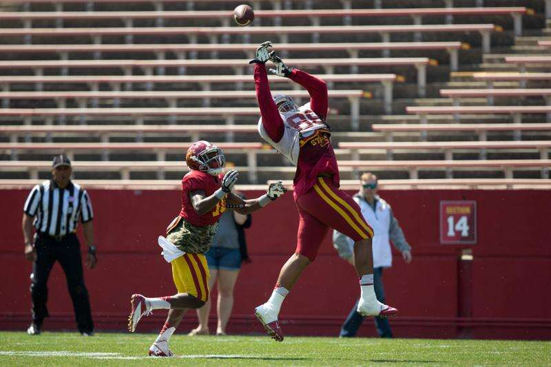 Iowa State looking for versatility from tight ends