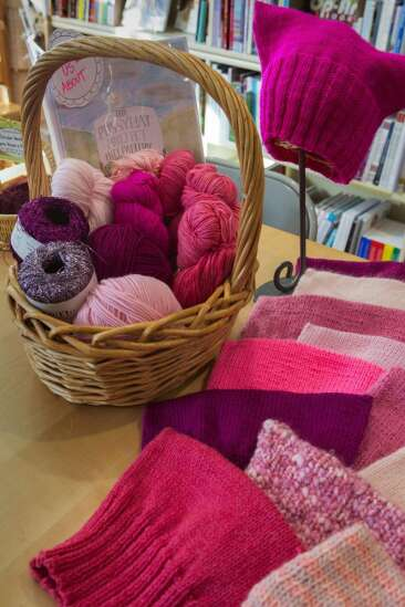 Knitting a movement: Why you'll see pussyhats everywhere in January