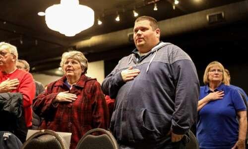 Betsy DeVos tells Iowa caucus Republicans 'freedom itself' is on…