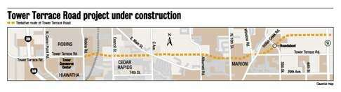 Tower Terrace development plans call for 4-lane crosstown route