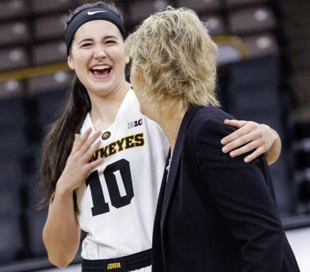 Iowa women's basketball: Lofty rankings, high goals for the Hawkeyes