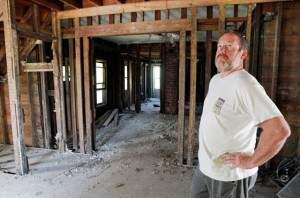 Could some flooded homes set for demolition be saved?
