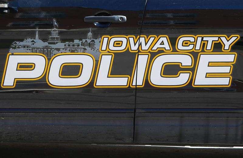 Vehicle damaged by gunfire in Iowa City
