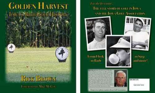 The definitive book on golf's history in Iowa and its…